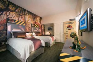 Dinosaur Themed Hotel Room